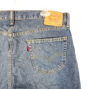 Levis 559 Mens Blue Jeans Sz 36x34 Medium Wash